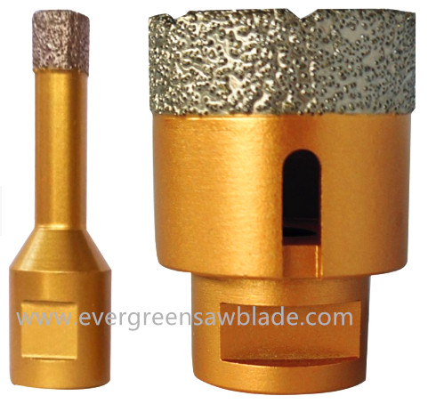 Evergreen Vacuum brazed diamond drill bit