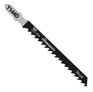 Woodworking jigsaw blade T144D