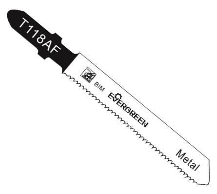 Bimetal jigsaw blade T118AF