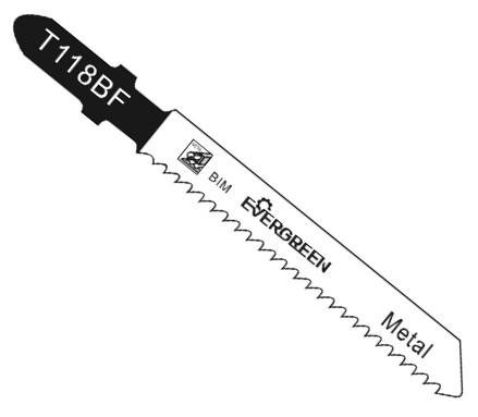 Bimetal jigsaw blade T118BF